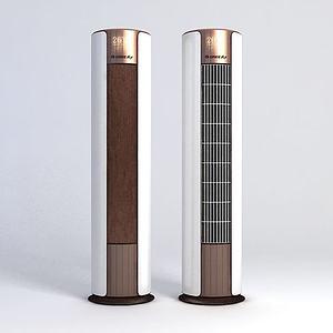 立式空调模型