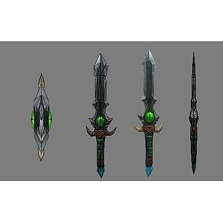 宝剑3d模型