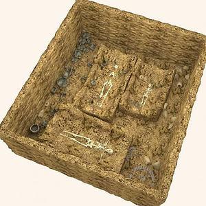 墓葬3d模型