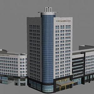 酒店建筑模型3d模型