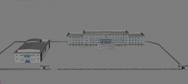 3d政府<font class='myIsRed'>大楼</font>模型
