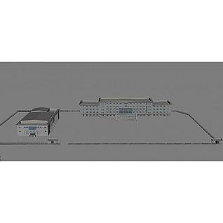 政府大楼3d模型