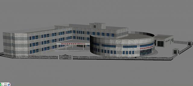 醫院模型3d模型