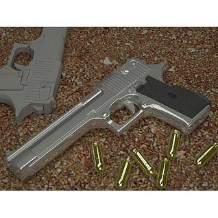 手枪3d模型