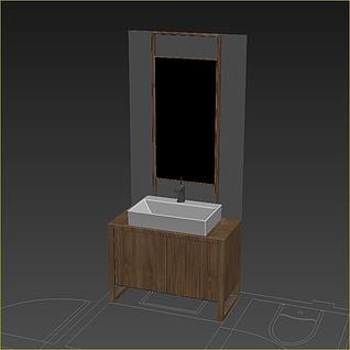 洗脸池3d模型
