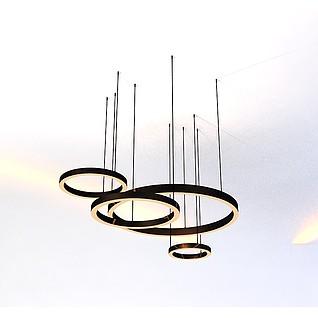 吊灯3d模型3d模型