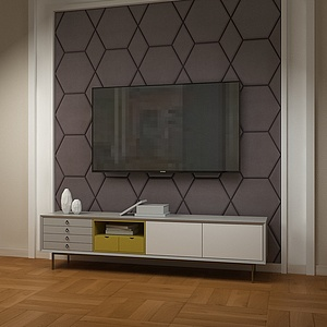 3d电视,<font class='myIsRed'>电视柜</font>模型