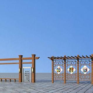 景观小品3d模型