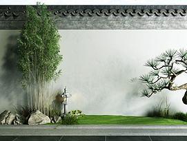 3d园林植物模型