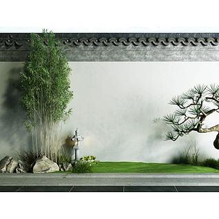 园林植物3d模型