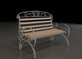 欧式椅3D模型