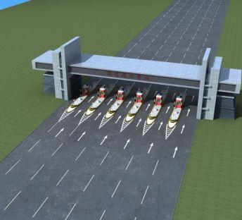 高速路收费站