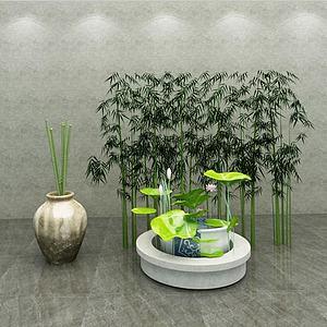 園藝小品3d模型