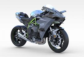 川崎摩托车模型