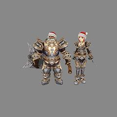 游戏角色人物模型3d模型