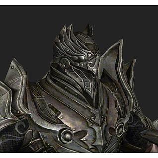 无尽之剑游戏角色人物3d模型