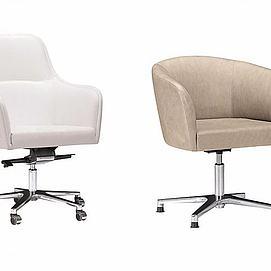 沙发办公椅组合模型