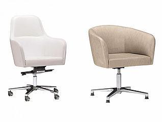 沙发办公椅组合模型3d模型