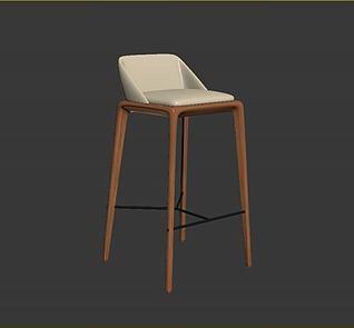 吧椅模型3d模型