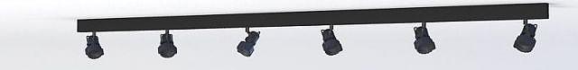 轨道筒灯射灯模型