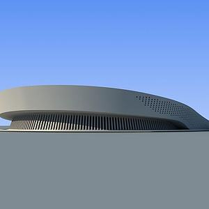 大剧院3d模型