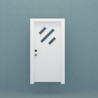 卫生间门模型3d模型