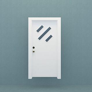 卫生间门3d模型3d模型
