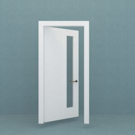 卫生间门模型