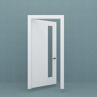 卫生间门3d模型
