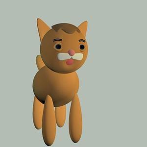 小貓3d模型