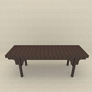 供桌3d模型