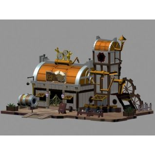 圆顶小房子3d模型