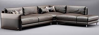 现代沙发模型3d模型