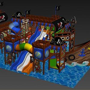 海盗船?#20113;?#22561;模型