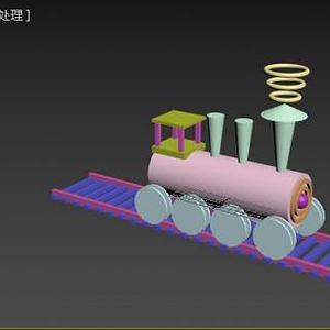 3d小火<font class='myIsRed'>车</font>模型