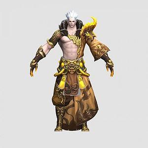 游戏角色人物模型