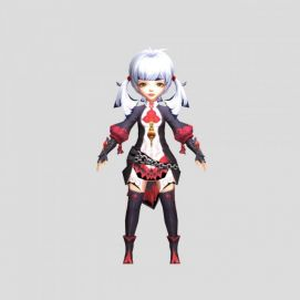 3d游戏角色人物模型