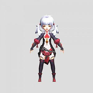 3d游戏角色<font class='myIsRed'>人物</font>模型