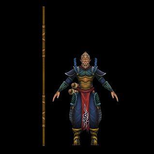 美猴王孙悟空3d模型