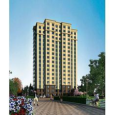 高层建筑住宅3D模型3d模型