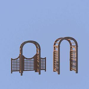 3d婚礼门<font class='myIsRed'>园林</font>景观模型