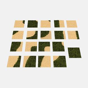 3d<font class='myIsRed'>园林</font>地面模型