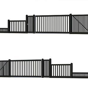 3d围栏模型