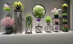 花盆模型3d模型