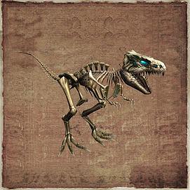 霸王龙恐龙骨架模型