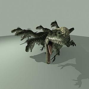 单脊龙模型
