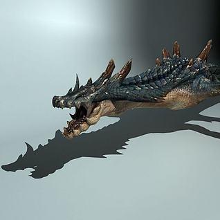 海龙3d模型