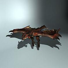 雄火龙3D模型3d模型