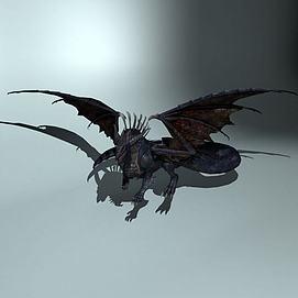 怪物龙模型