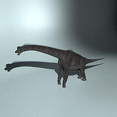 巨臂龙3D模型3d模型